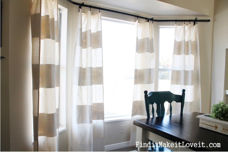 DIY Painted Drop Cloth Curtains (9)