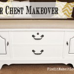 How to Paint and Reupholster a Cedar Chest