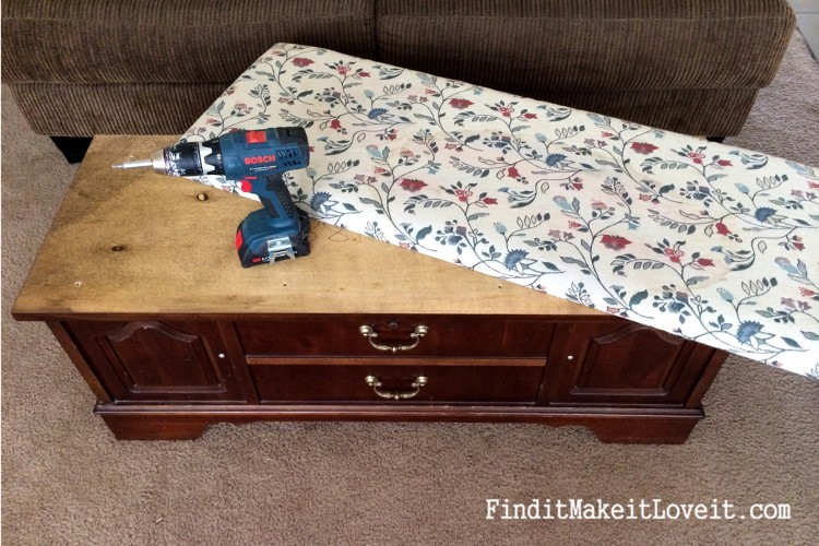 how to paint and reupholster a cedar chest (16)