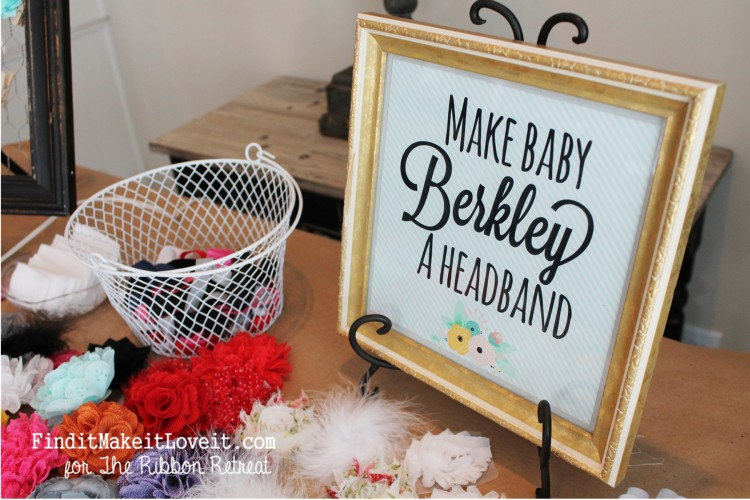 Baby Shower Headband Station (9)