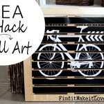 DIY Wall Art (Ikea Hack)