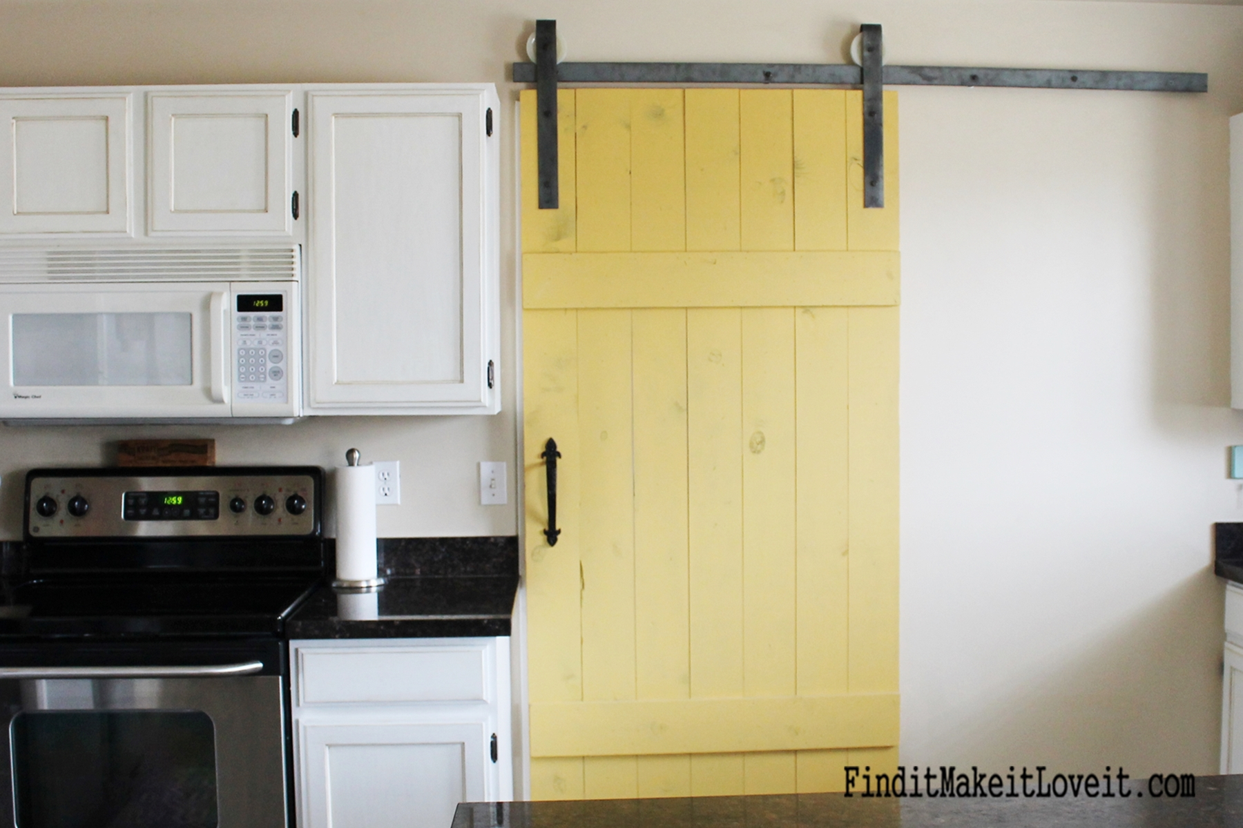 Barn Door For Kitchen Diy Barn Door Find It Make It Love It