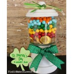 St. Patrick's Day Candy Jar
