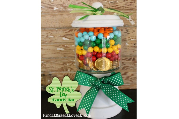 St. Patrick's Day Candy Jar (2)