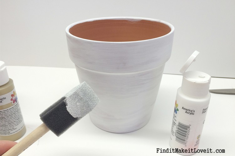 Upcycled Dollar Store Pots (10)