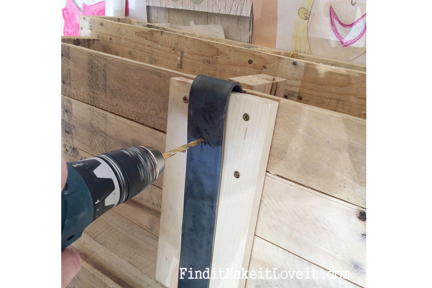 DIY Barn Door Hardware (13) ...