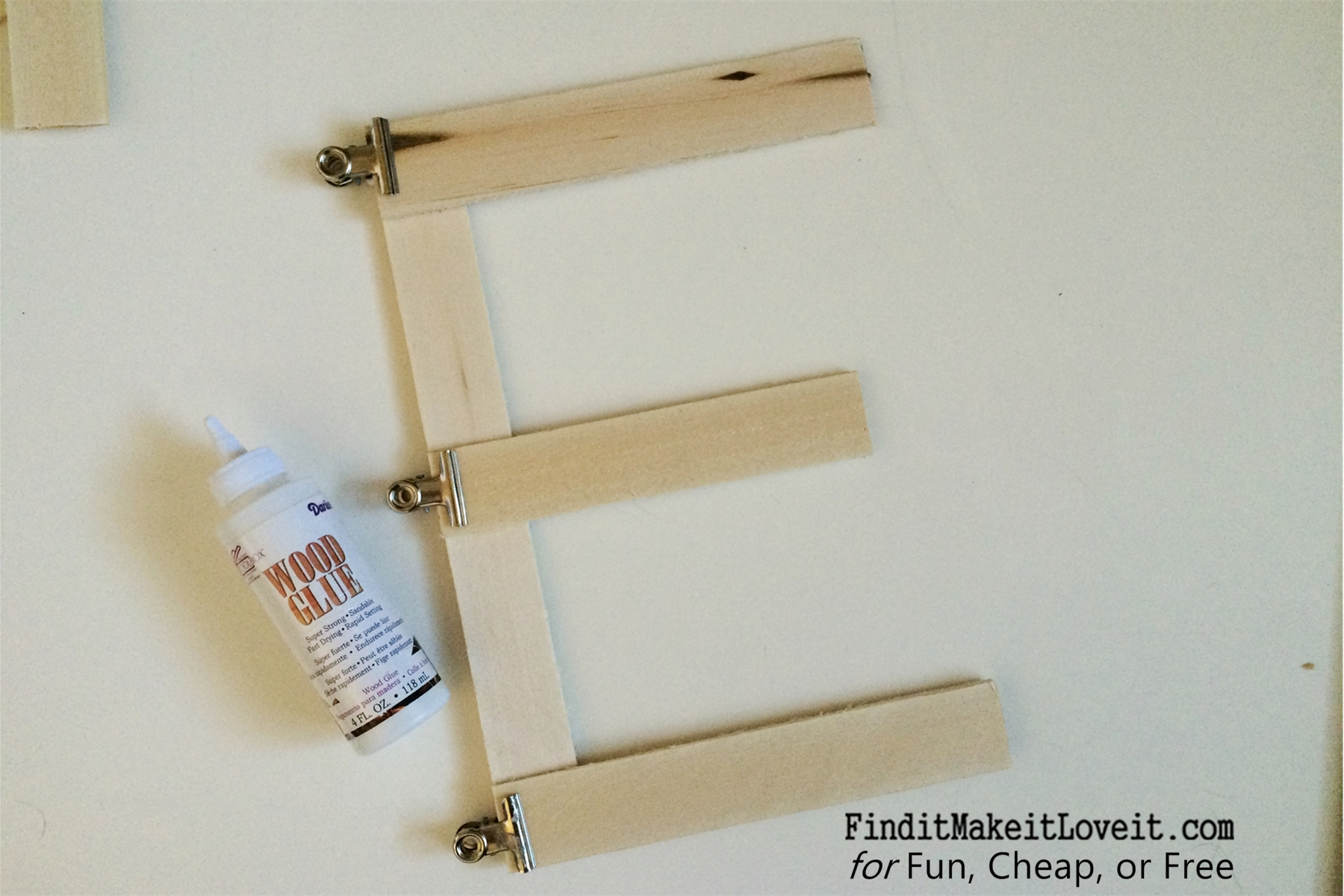 Oversized Wooden Letters For Less Than 5 Fun Cheap Or Free