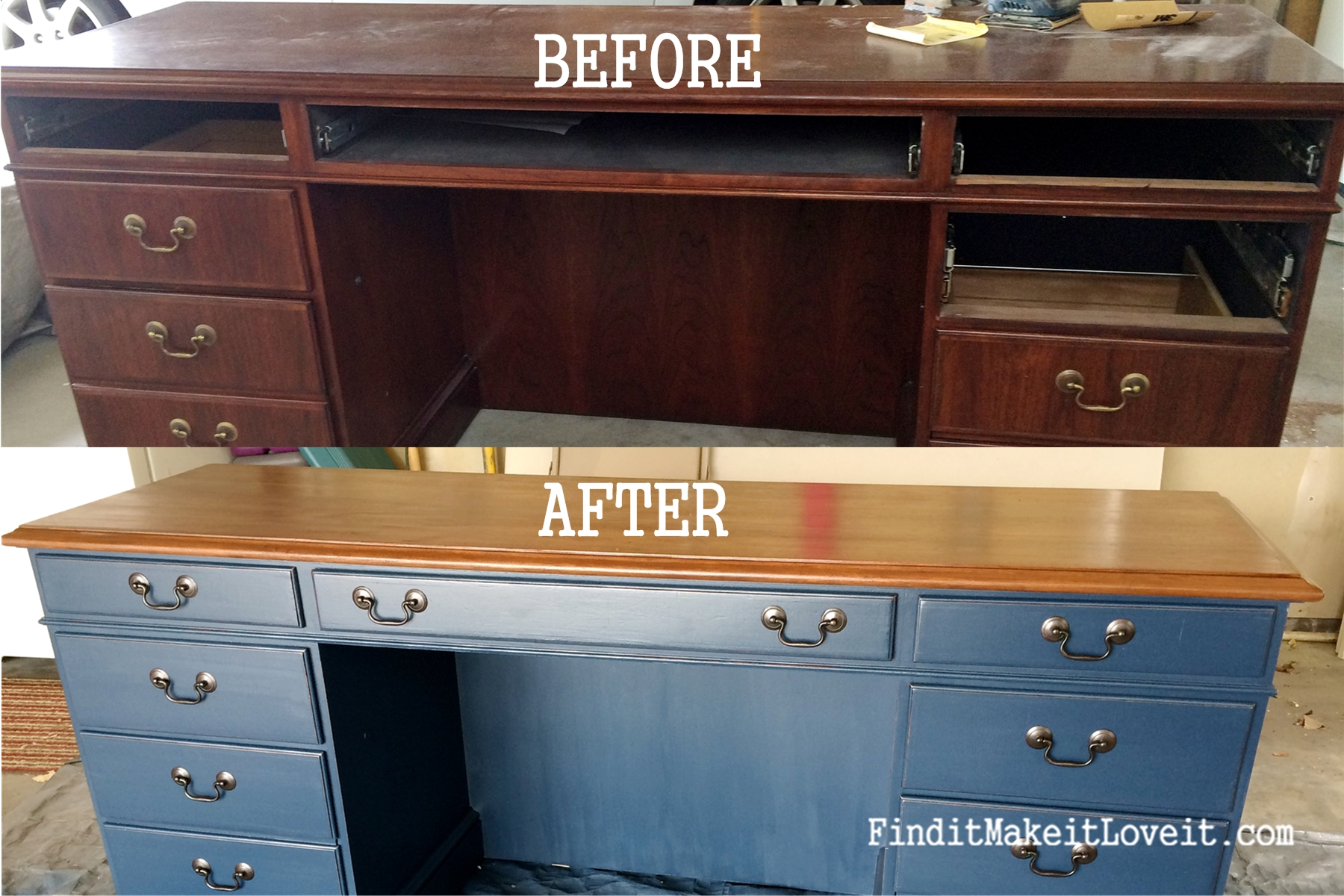 cupboard steel kitchen door oak after with refinishing countertop plus wood furniture handle before ideas drawer cabinets darker and