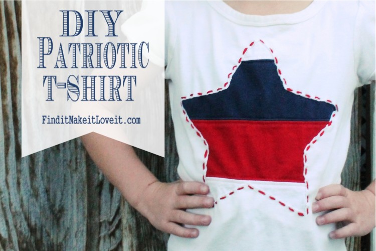DIY Patriotic T-Shirt (1)