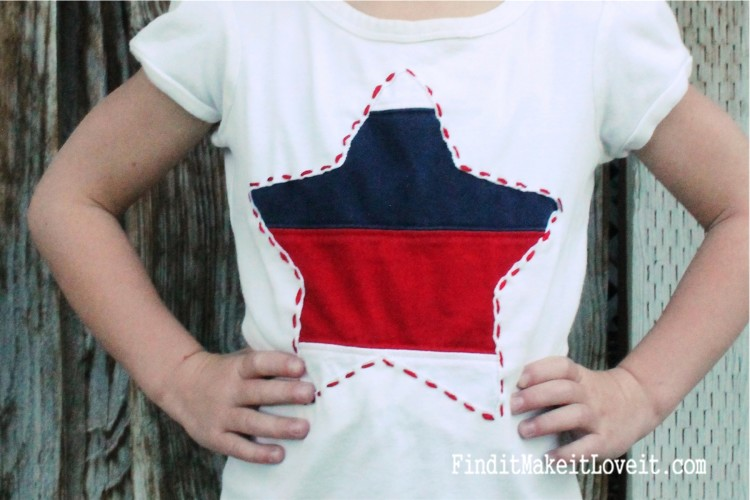 DIY Patriotic T-Shirt (11)