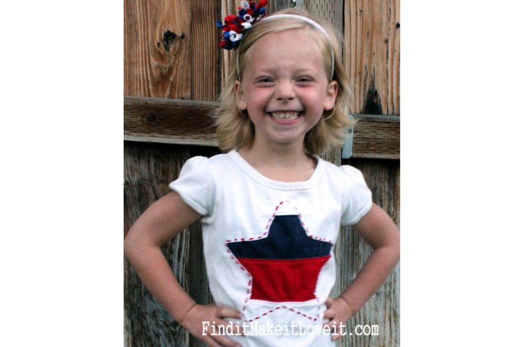 DIY Patriotic T-Shirt (2)