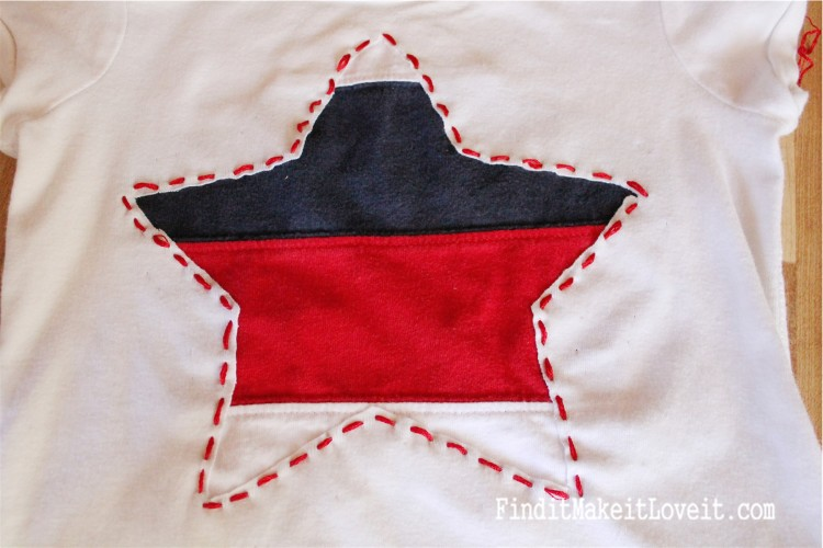 DIY Patriotic T-Shirt (5)