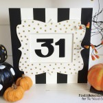 Halloween Box Sign + A Giveaway!