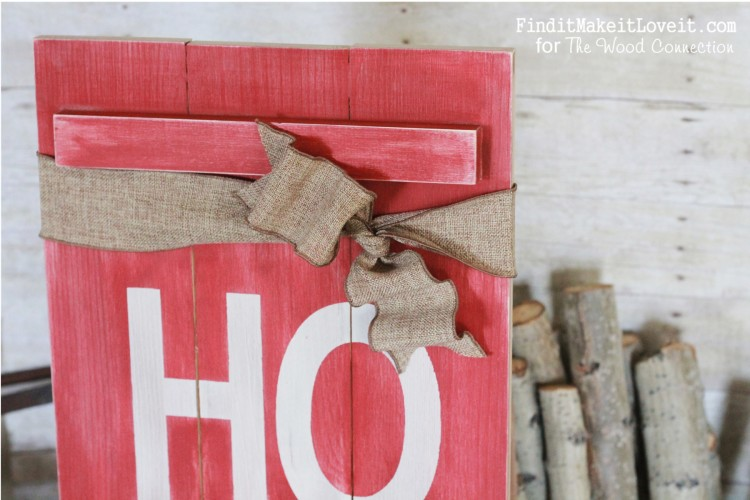 Cute Christmas Porch sign