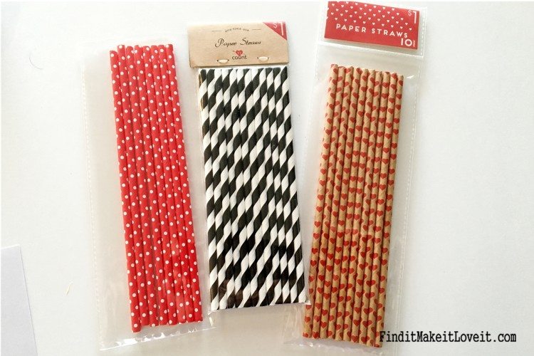 Mix and match inexpensive paper straws to cut and string together for a cute and festive garland.