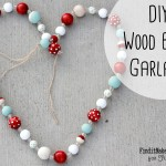 DIY Wood Bead Garland