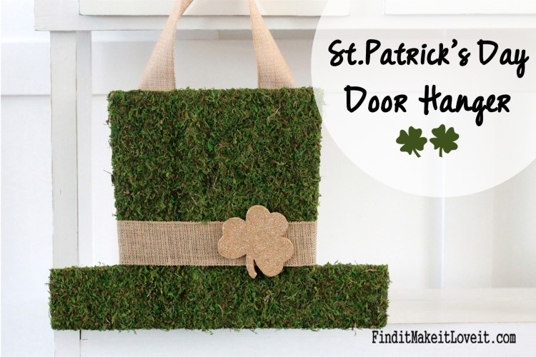 St. patrick's day door hanger (18)