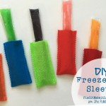 DIY Freezer Pop Sleeves