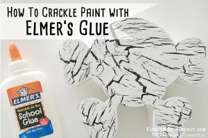 Crackle Paint Skull