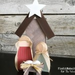 Wood Nativity Craft