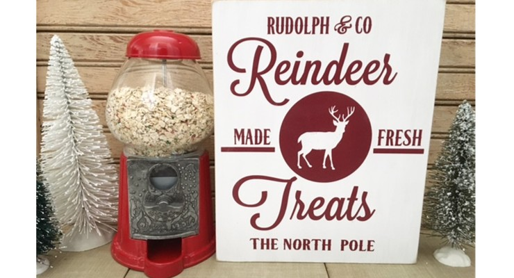 Reindeer Treats and Sign