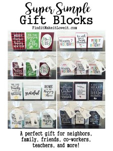 Simple Gift Blocks